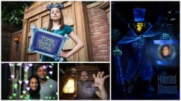 Enjoy Special Experiences at Magic Kingdom Park on April 13 to Celebrate Walt Disney World Resort's 13thAttraction Photo Location at the Haunted Mansion
