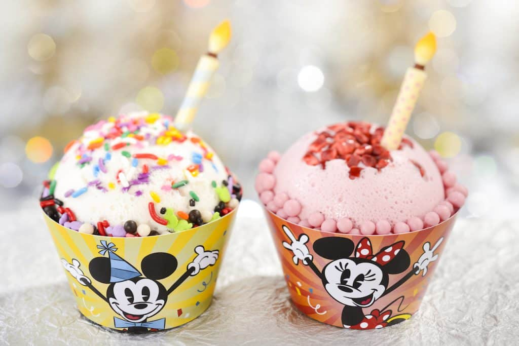 Mickey and Minnie Mouses' Celebration Cakes from Backlot Express at Disney's Hollywood Studios