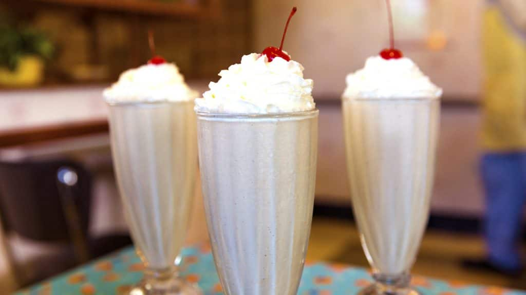 Peanut Butter & Jelly Milk Shake from 50's Prime Time Café at Disney's Hollywood Studios