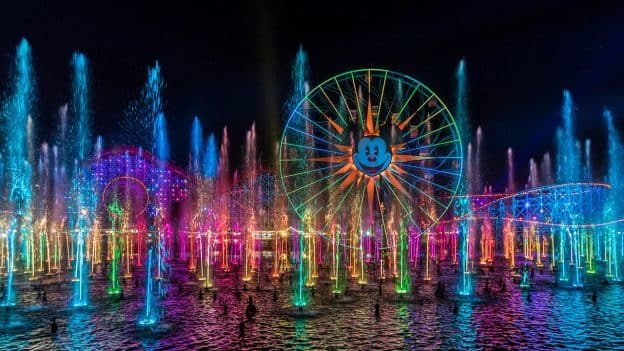 Disney Parks After Dark: 'World of Color' at Disney California Adventure Park