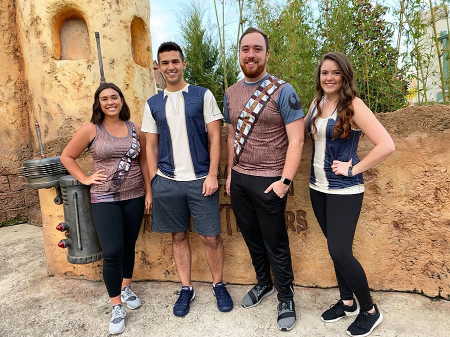 runDIsney Star Wars-inspired Character Performance Wear