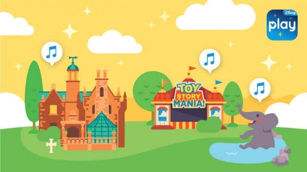 Play Disney Parks app illustration