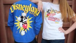 Pop-Up Disney! A Mickey Celebration Spirit Jersey and T-shirt