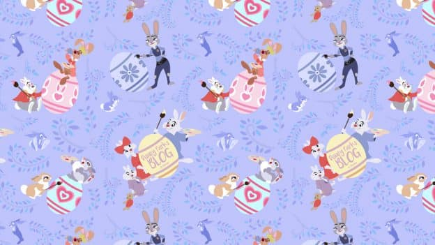 Celebrate Easter with Our Disney Bunny-Themed Digital Wallpaper