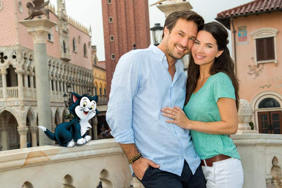 Disney PhotoPass Magic Shot in Italy at Epcot