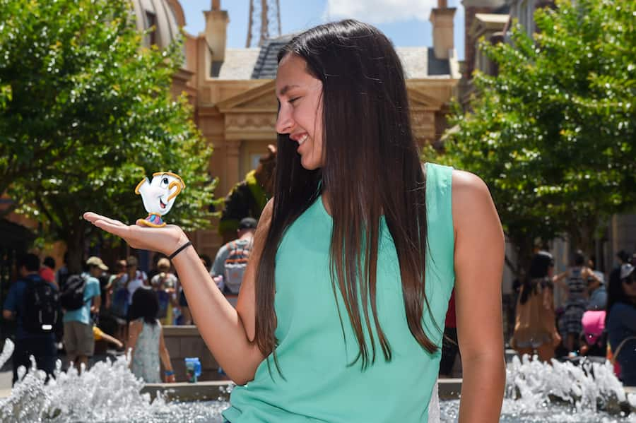 Disney PhotoPass Magic Shot in France at Epcot