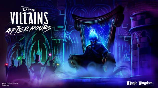 Disney Villains After Hours logo