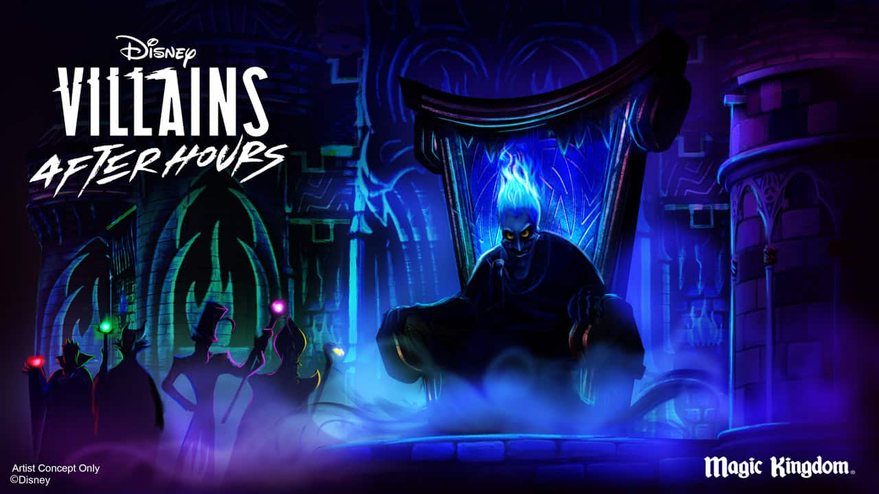 Disney Villains After Hours Concept Art