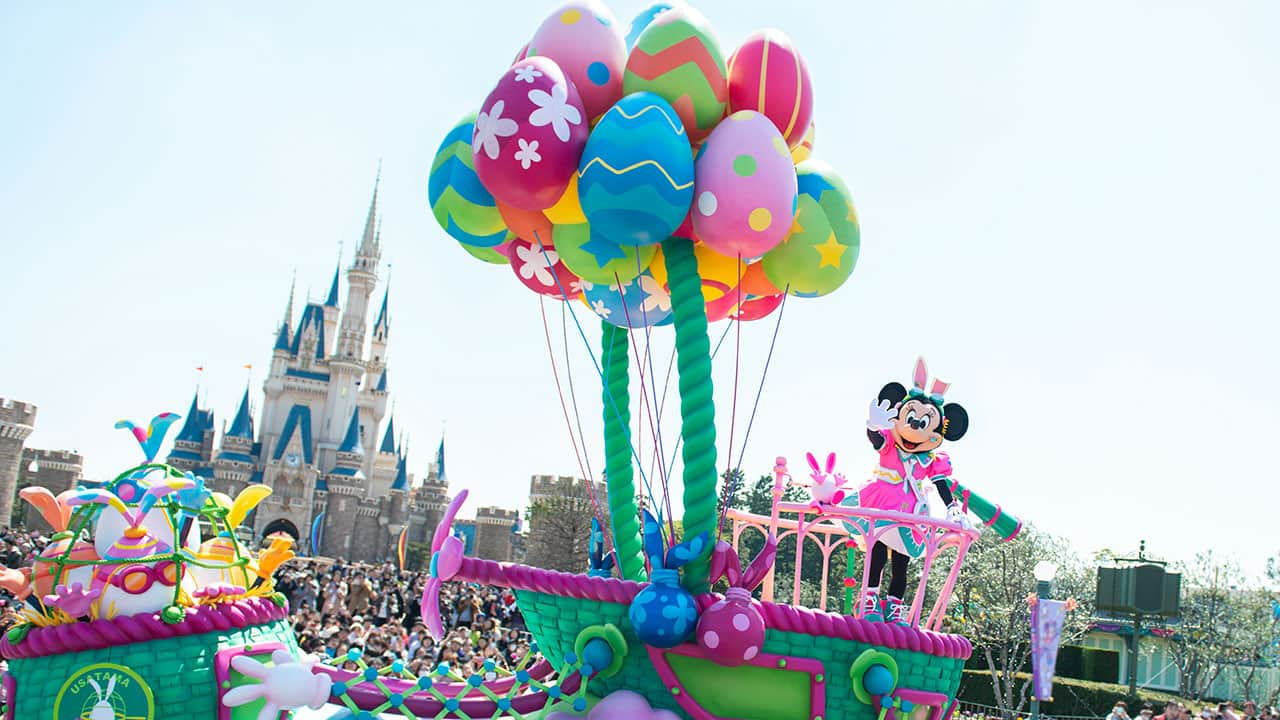 Disney S Easter Takes Over Both Parks At Tokyo Disney Resort