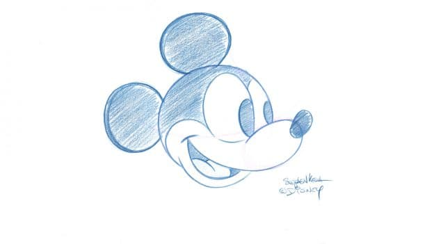 Learn To Draw Mickey Mouse Drawing Series Begins With 1920s Art Disney Parks Blog