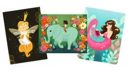 Meet the Artists in April 2019 at WonderGround Gallery in Downtown Disney District at Disneyland Resort - Art by Alishea Gibson and Ann Shen