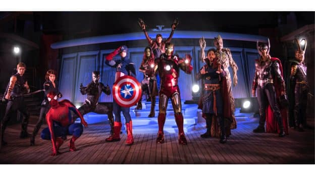 Marvel Day at Sea Super Heroes