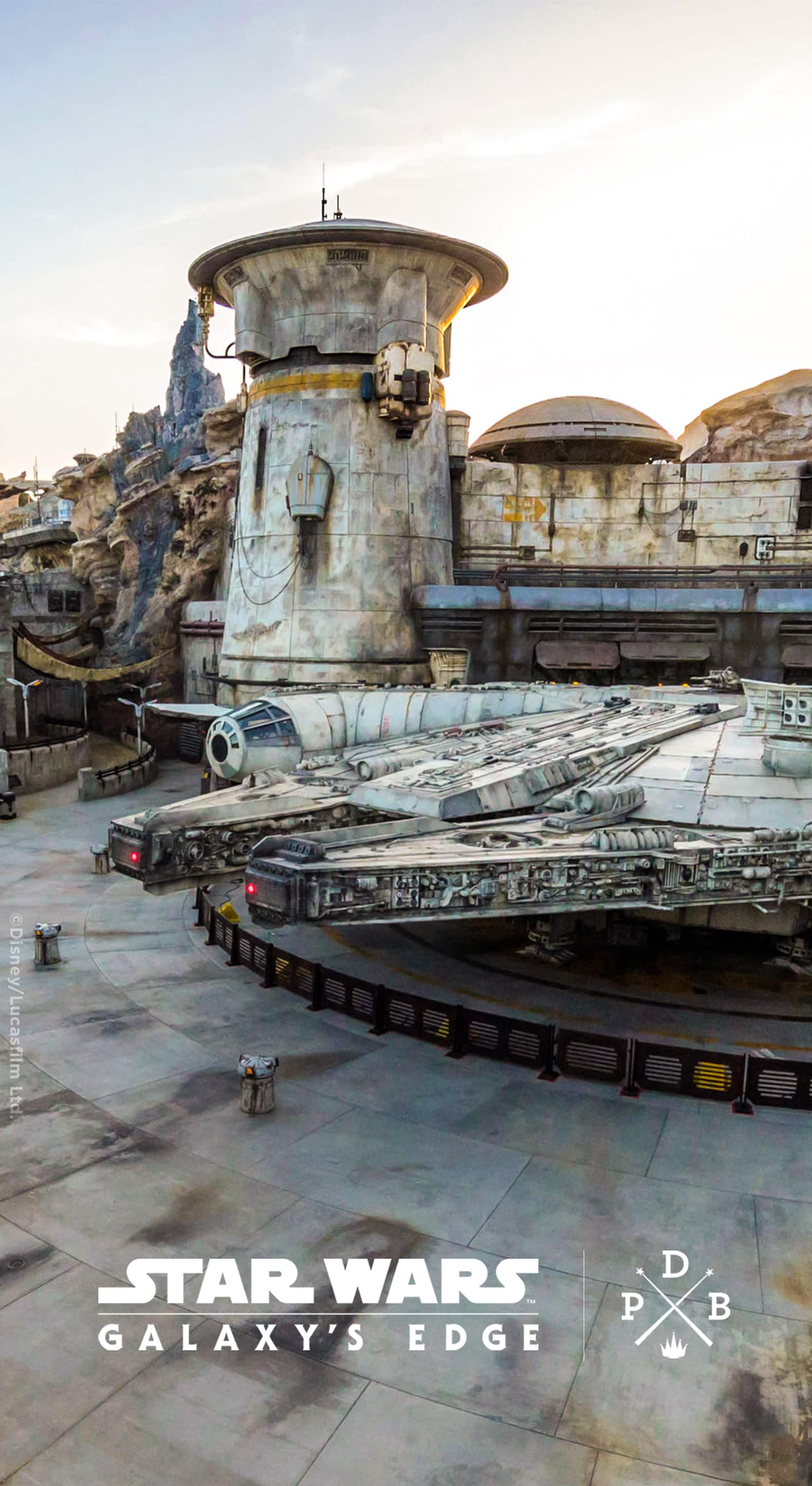 Star Wars Galaxy S Edge At Disneyland Resort Wallpaper Iphone Android Disney Parks Blog