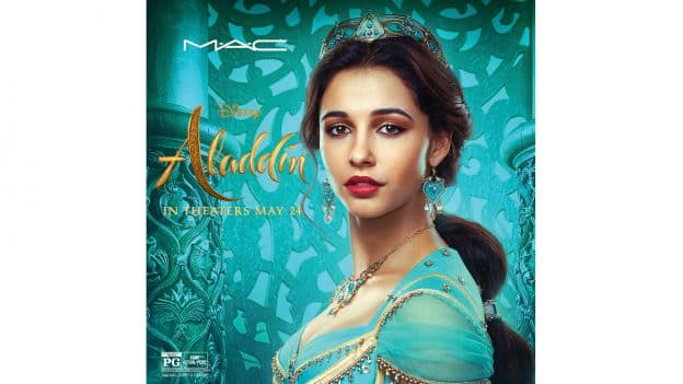 Disney Aladdin Collection World Premiere by M•A•C Cosmetics Debuts May 15 at Disney Springs - Jasmine Artwork