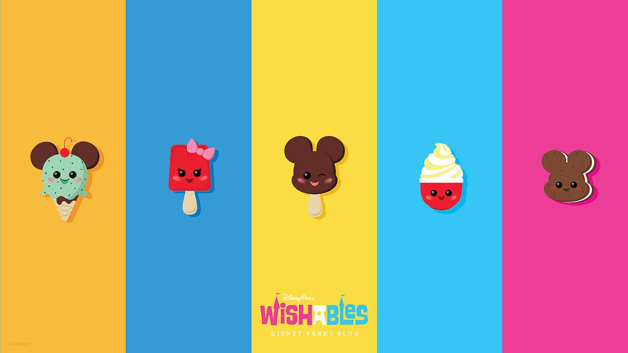 Disney Parks Blog Wallpaper Series Features New Wishables Collection Of Mickey Shaped Treats Disney Parks Blog