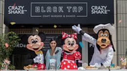 Black Tap Craft Burgers & Shakes Celebrates Grand Opening with Vanessa Hudgens