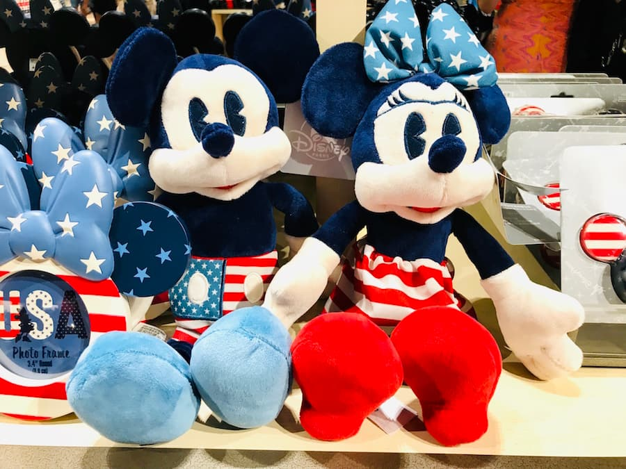 Mickey and Minnie Plushes