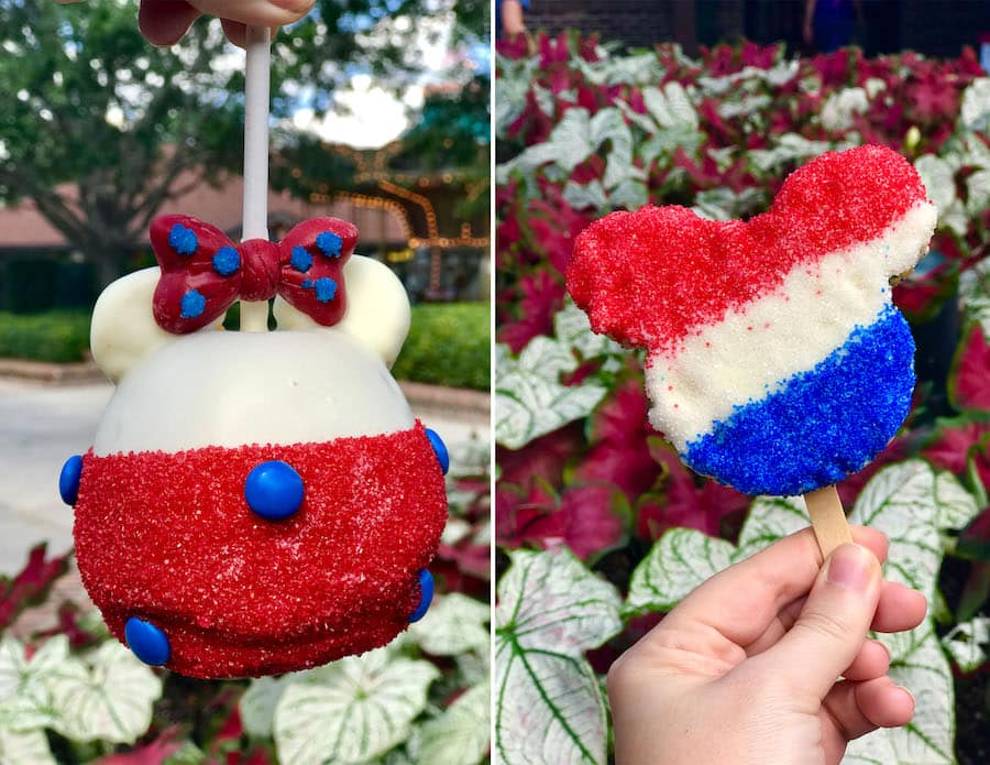 Red, White and Blue Sweets from Disney Springs