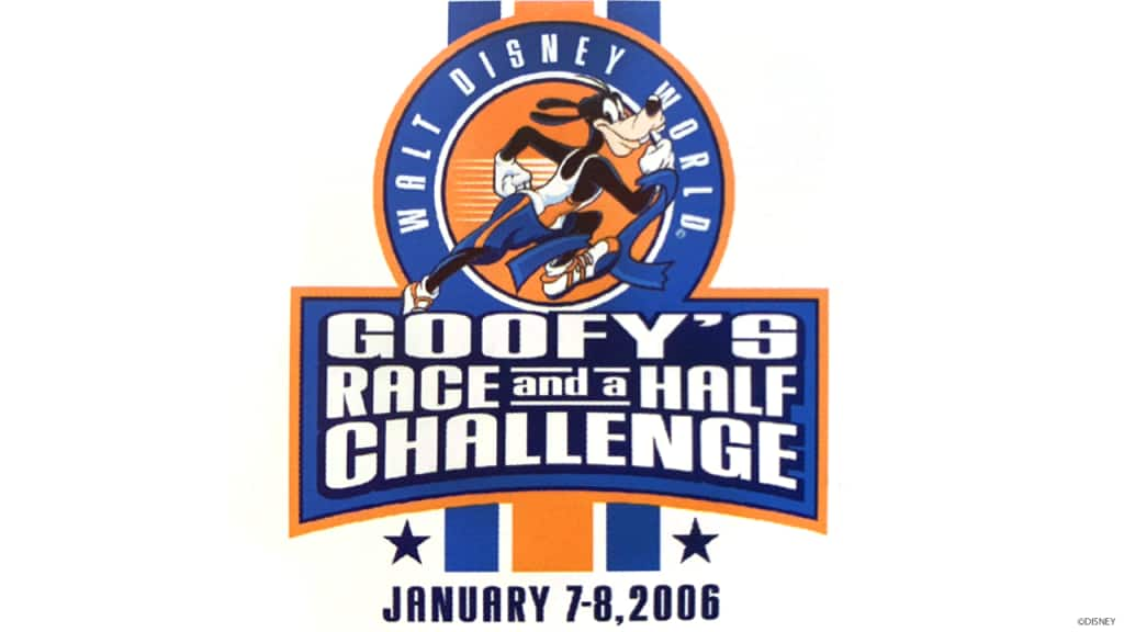 Goofy's Race & a Half Challenge Logo
