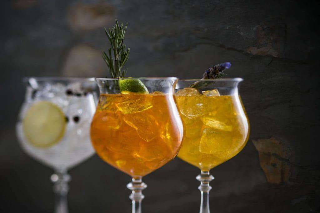 Specialty Cocktails from Dahlia Lounge at Disney's Coronado Springs Resort