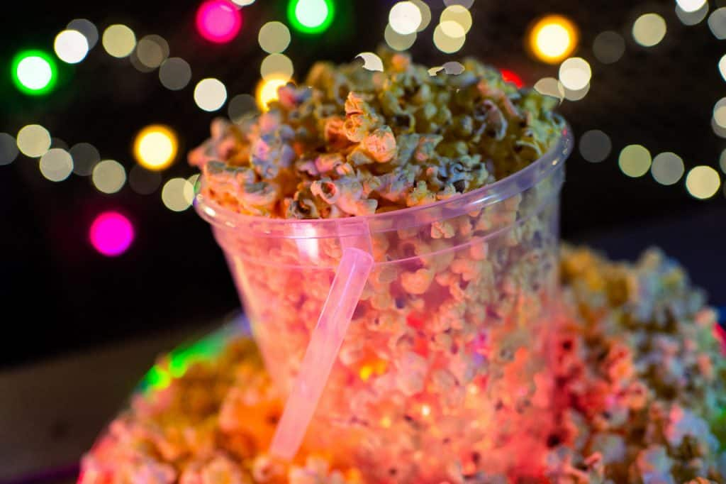 Light-up Popcorn Bucket for H2O Glow Nights at Disney's Typhoon Lagoon