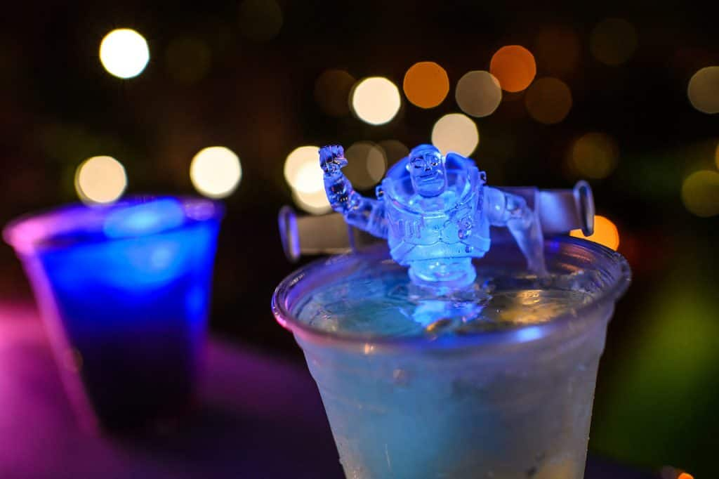 Buzz Lightyear Glow Clip from Leaning Palms for H2O Glow Nights at Disney's Typhoon Lagoon