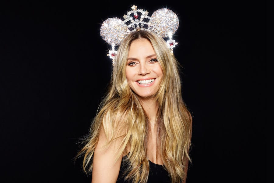 Dazzling Pair of Mouse Ears Designed byHeidi Klum