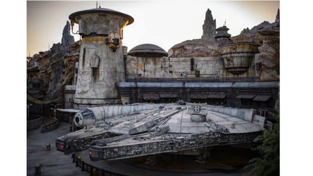 Millennium Falcon: Smugglers Run at Star Wars: Galaxy's Edge at Disneyland Park