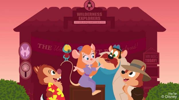 Disney Doodle: The Rescue Rangers Turn Wilderness Explorers