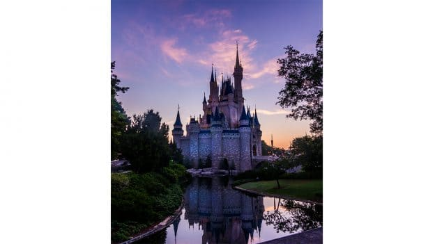 Good Morning from Cinderella Castle at Magic Kingdom Park