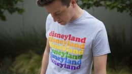 New T-Shirt from the Rainbow Disney Collection