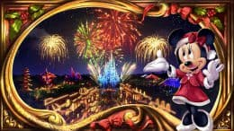 New Art for Mickey's Very Merry Christmas Party at Magic Kingdom Park