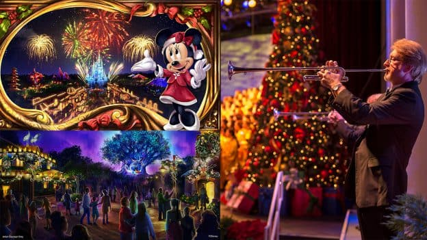 Disney Christmas Decorations.Early Look Magical Holiday Happenings At All Four Walt