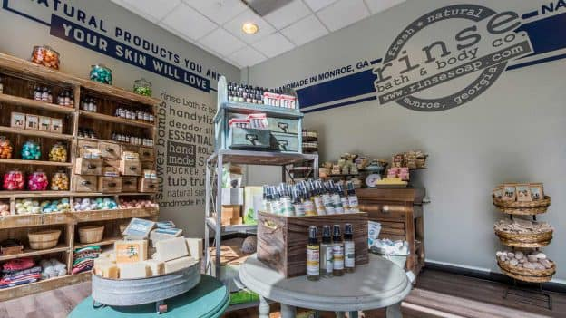 Rinse Bath & Body Co. Now Open in Downtown Disney District at Disneyland Resort