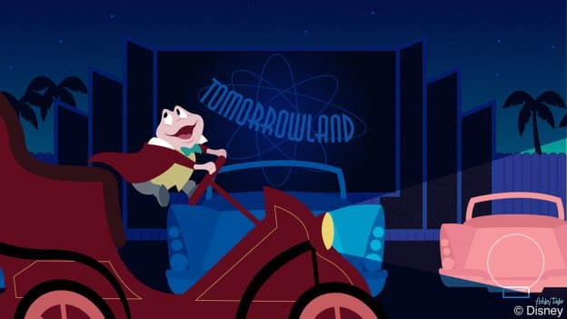 Disney Doodle: Mr. Toad Takes a 'Sci-Fi' Ride at Disney's Hollywood Studios