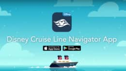 Disney Cruise Line's Navigator App