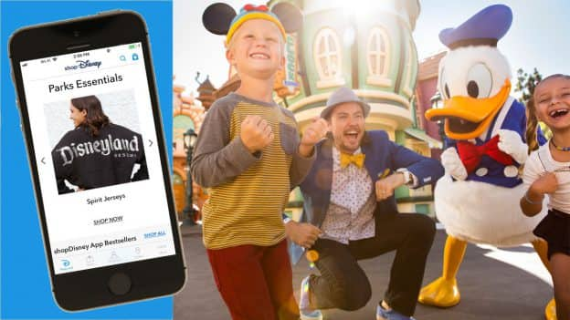shopDisney App screenshot