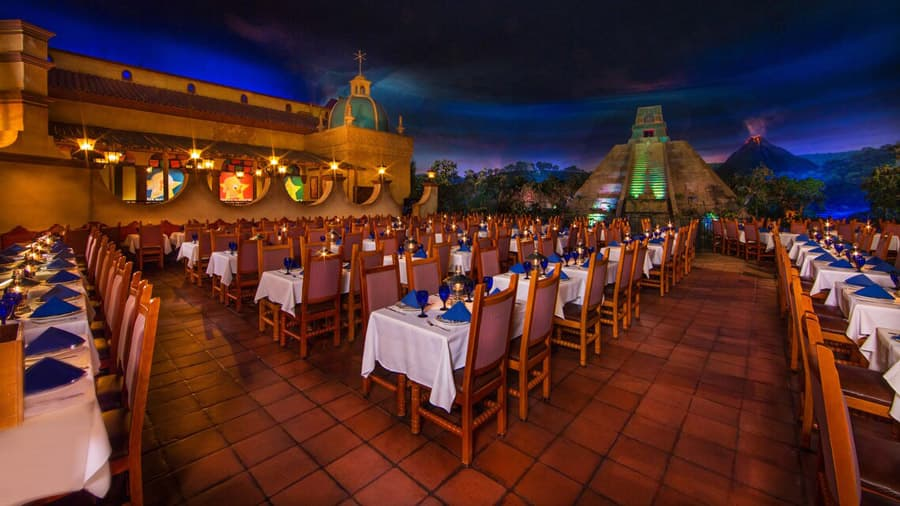 San Angel Inn Restaurante in the Mexico pavilion at Epcot