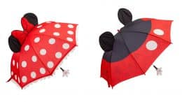 Mickey and Minnie Mouse Umbrellas