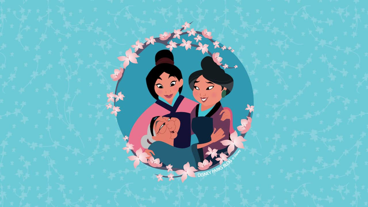 Celebrate Mother S Day With Our Three Generations Wallpaper Inspired By Mulan Disney Parks Blog