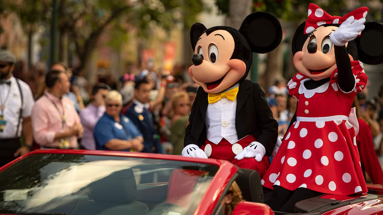 Disney Characters Cavalcade