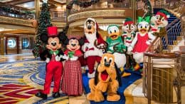 Characters on a Very Merrytime Cruise with Disney Cruise Line