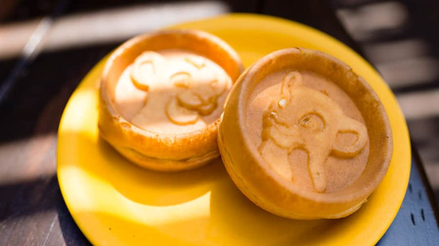 Simba and Nala Waffles from Tusker House at Disney's Animal Kingdom Theme Park