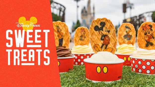Disney Parks Sweet Treats - May 2019 - Featuring Mickey and Pals Waffle Wafer Toppers at Magic Kingdom Park