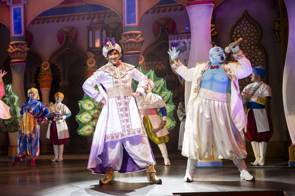 """Disney's Aladdin – A Musical Spectacular"" on the Disney Fantasy"