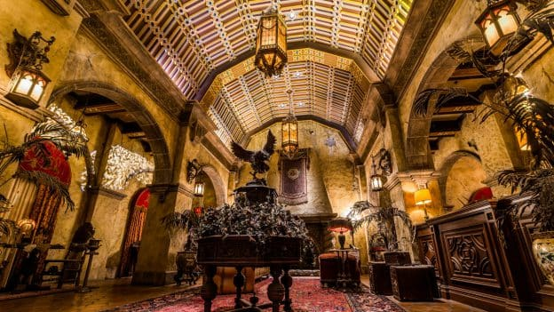 Lobby of The Twilight Zone - Tower of Terror at Disney's Hollywood Studios