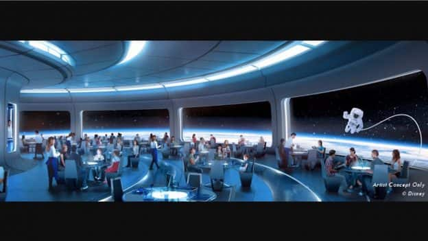 Image result for disney parks blog space restaurant