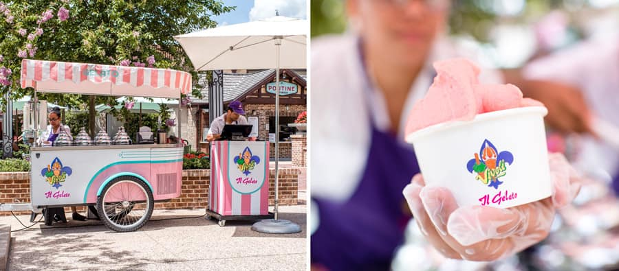 Vivoli il Gelato Bike at Disney Springs