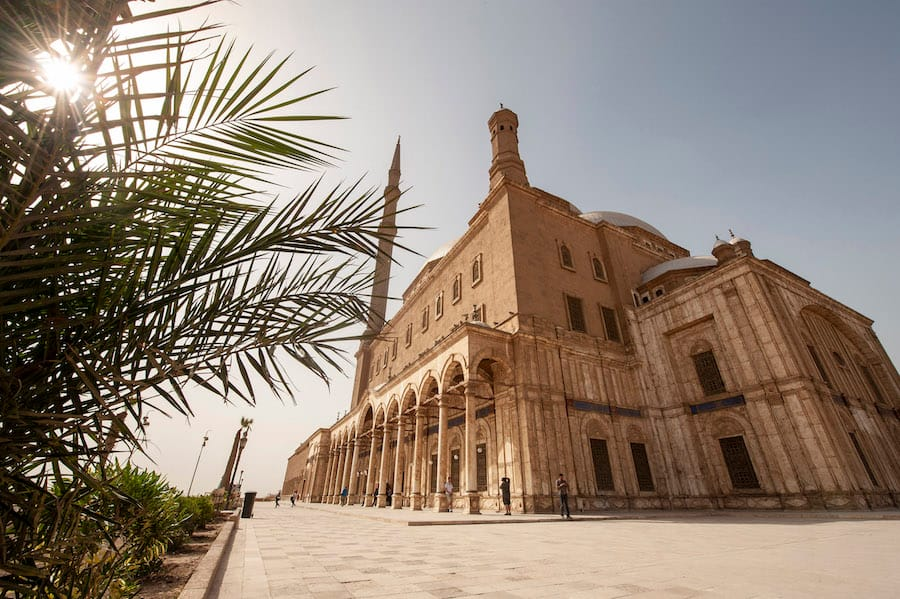 Take a tour of Old Cairo, including the Mosque of Muhammad Ali with Adventures by Disney