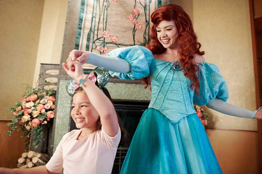 Meet Disney Princesses, including Ariel!